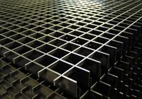 Griglie di acciaio per pavimento