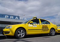 Trasporto taxi praga